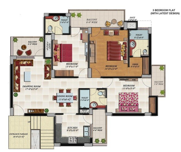 hollywood 3 bhk