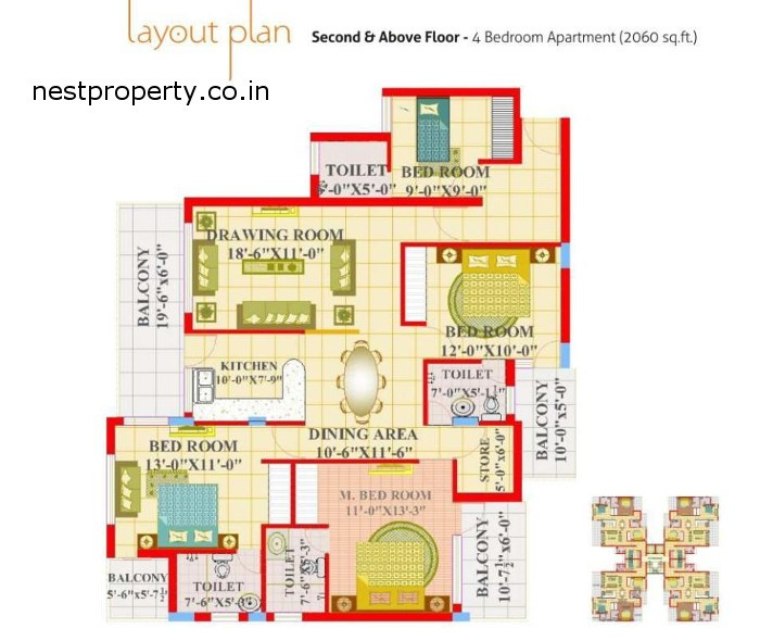 -Maple-Apartment_4 bhk