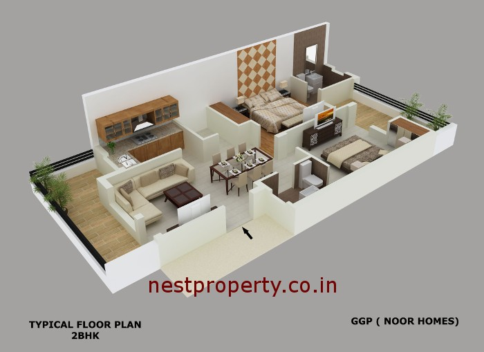 2BHK-GGP-NOOR-HOMES