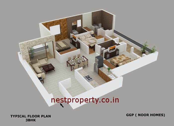 ISO-VIEW-3bhk