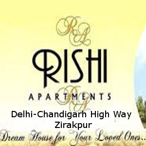 Rishi Apartment Flats | 3 Bhk 4 BHK Ready To Move Flats In Rishi Apartment On Delhi-Chandigarh High way Zirakpur-Call-9888777712,9888775612