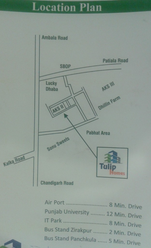 3 Bhk Ready To Move Flats In Tulip Home