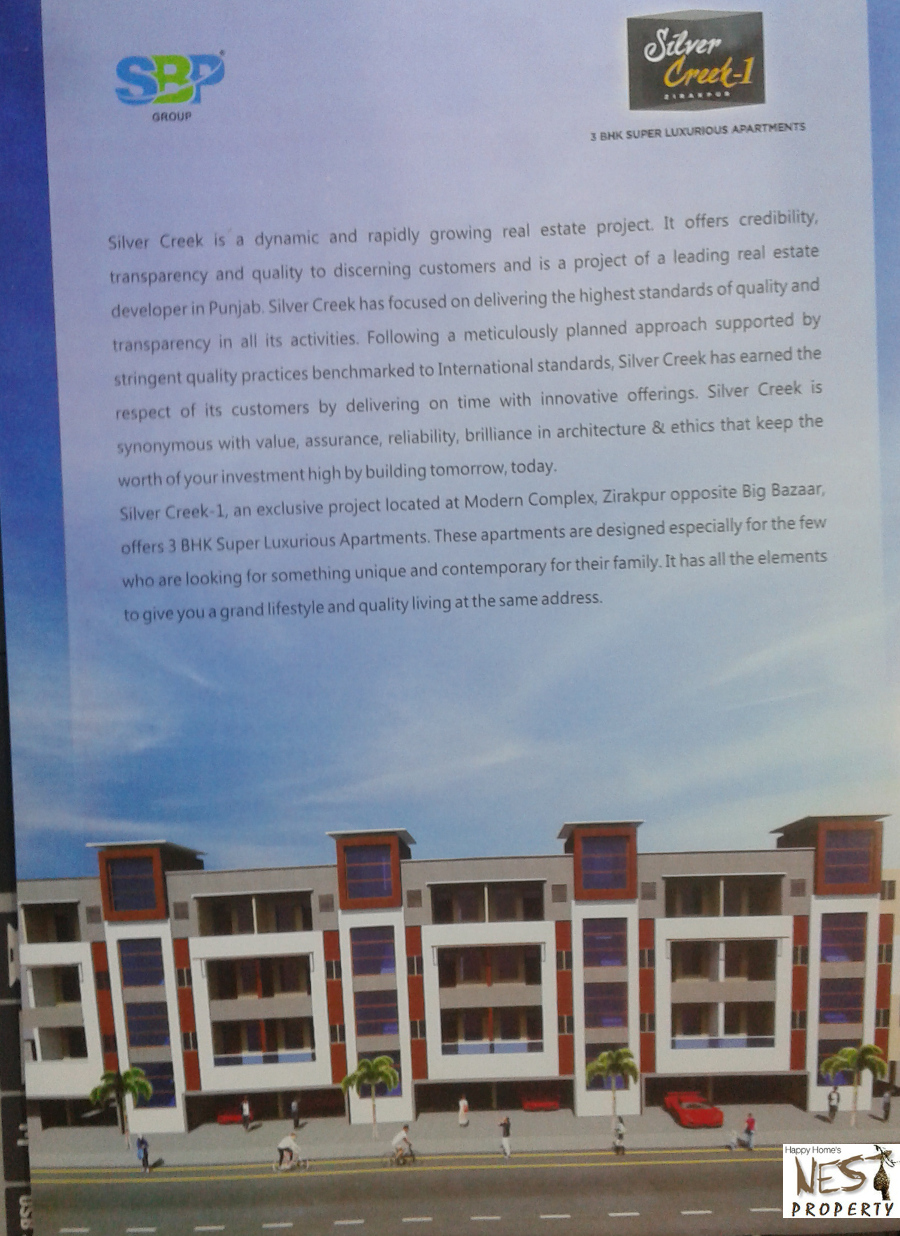 3 Bhk Ready To Move Flats in Silver Creeks
