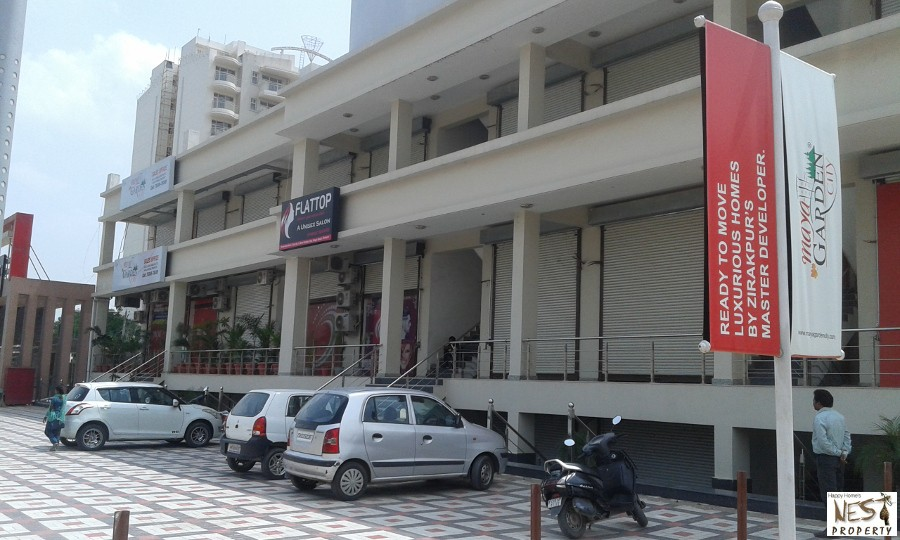 Commercial Property for Sale in Zirakpur | Showroom, Office Space For Sale In Maya Garden Galleria In Maya Garden City Near Chandigarh – High way zirakpur