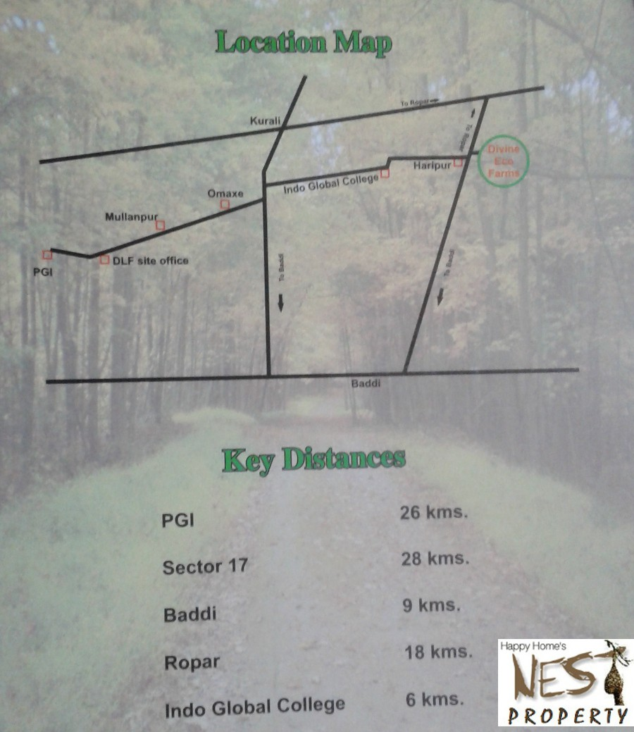 Land For sale @ 12 lac Per Acre In Haripur Village 26 Km