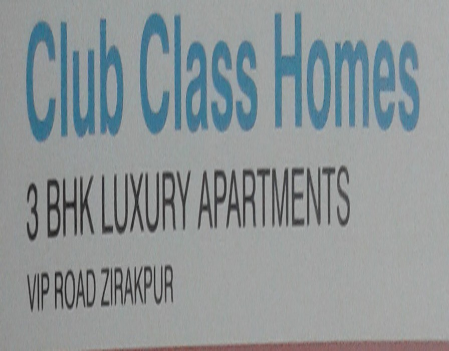 Flats for sale in zirakpur societies ,Ready To Move Flats near chandigarh ,@ 39.90 lac in Club Class Homes On VIP Road Zirakpur ,Plot size 200 Gaj ,Call-9888775612,9888777712