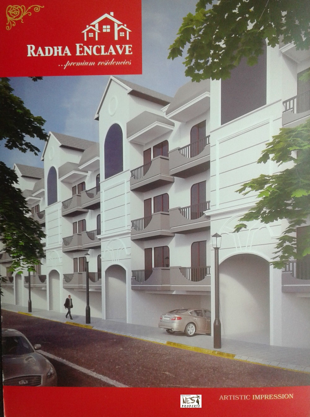 2 Bhk Ready To Move Flats in Radha Enclave at Kishan Pura