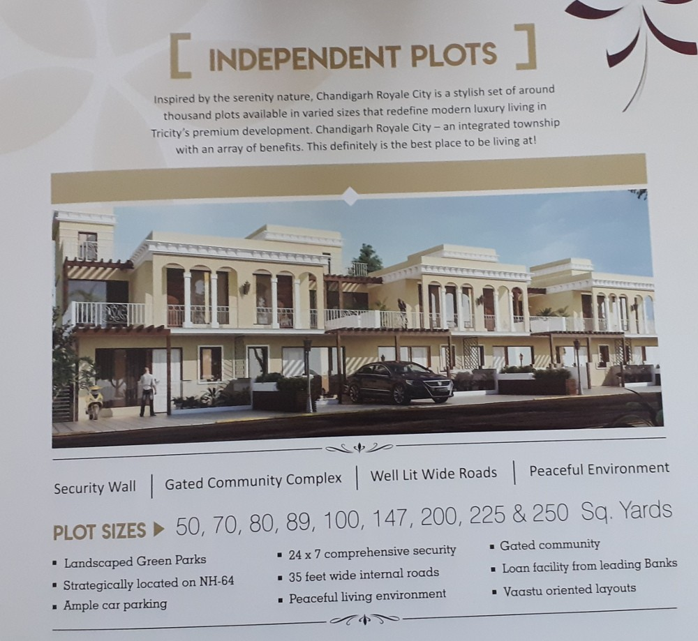 Plots For Sales in Zirakpur