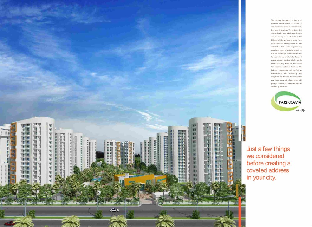 Suncity Parikrama in Sector 20, Panchkula – Flats for Sale in Suncity