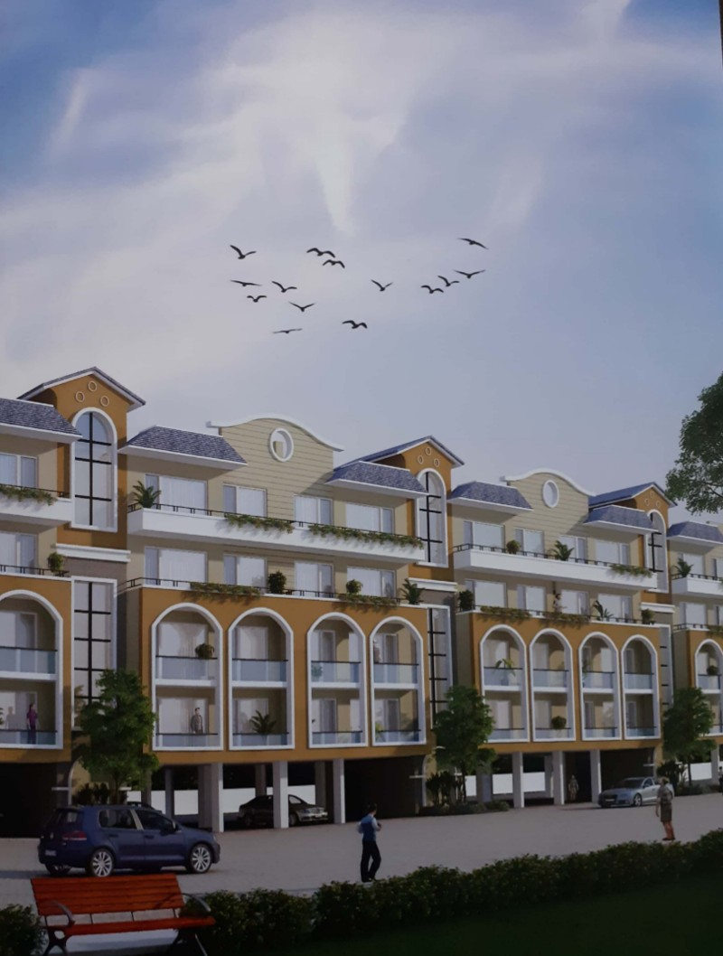 Joy Homes |3 Bhk Flat in Mohali |Wave Estate Gated Sector 85 Mohali call-9888777712