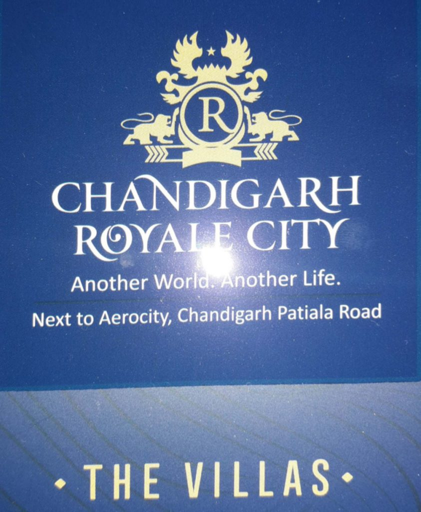 Villa,Independent House,Kothi In Chandigarh Royale City Zirakpur to Banur Road Mohali.9888777712