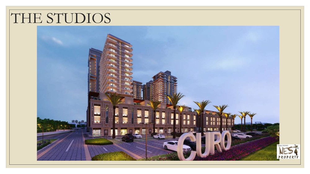 Curo One New Chandigarh Mullanpur Showroom,soho Studio Apartment -9888777712